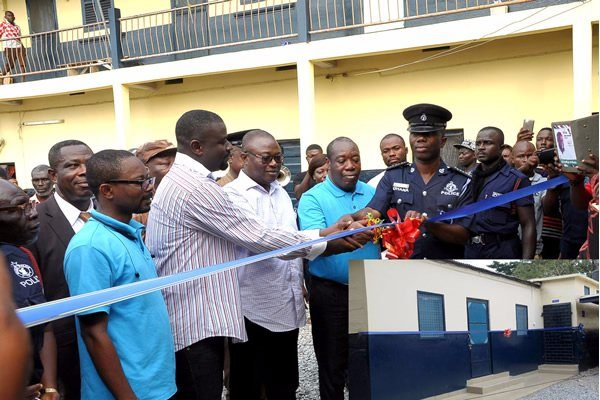 Voltic refurbishes Nsawam Police station male cells