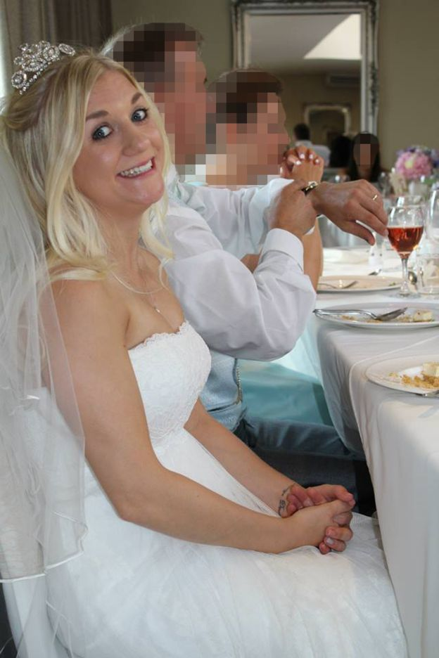 Wedding dress for sale to pay for divorce
