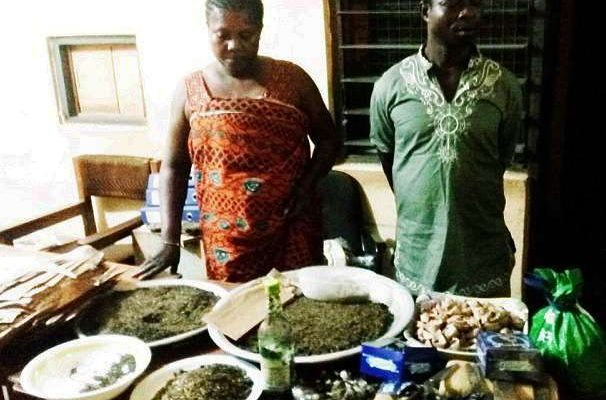 """Couple grabbed for selling """"wee"""" light soup"""
