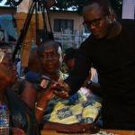 Adaklu Queen mother exhibits dirty drinking water at Joy Ballot Box