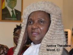 Justice Theodora Wood, CJ