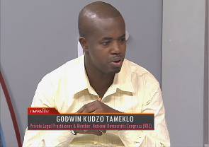 NDC youth organiser accepts 'negative' CDD survey
