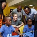 Facebook's Zuckerberg meets Lagos startups in first Nigeria trip