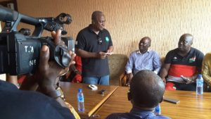 Abossey-Okai spare parts dealers declare support for Mahama [Photos]