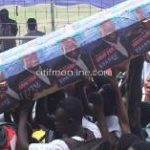 Nana Addo 'mocked in a coffin' at NDC manifesto launch