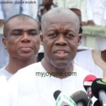 Mahama is Ghana's 'agent for change and transformation' – Veep