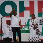Mahama raps organised labour; promises better conditions