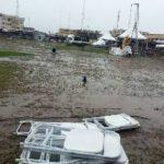 Heavy rains stall activities at NDC Manifesto launch