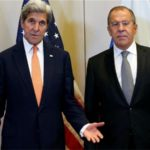 Kerry and Lavrov holding talks on Syria ceasefire deal