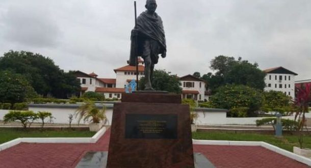 Legon signs petition to have  Ghandhi's statue removed