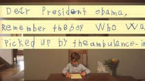 US boy offers home to Syrian refugee in letter to Obama