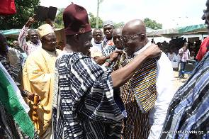 Wa Chiefs confer 'Chief Of Patience' title on Akufo-Addo