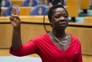 Amma Asante sworn in as Member Of Dutch Parliament