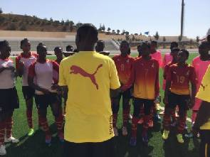 Black Maidens hold first training session ahead of Group opener against Japan