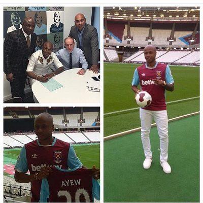 Dede, Arbeloa and West Ham officials to visit Ghana next month