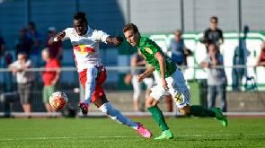 Dwamena suffers elimination from Austrian Cup with Lustenau