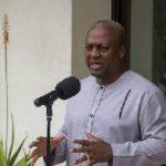 Mahama makes indirect response to Bawumia's 'lies'