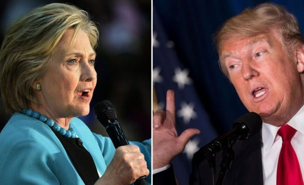 Hillary Clinton vows to 'call out bigotry' as feud with Trump grows