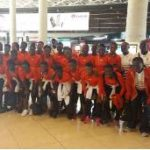 Black Maidens arrrive in Jordan for 2016 FIFA World Cup