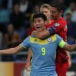 WATCH: Lewandowski loses his head in a minute vs Kazakhstan