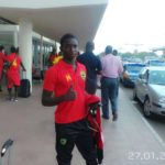 Dauda Mohammed collapses at training