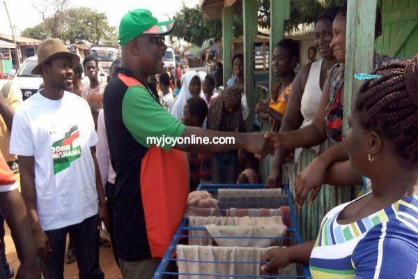 Ex Kumasi Mayor, Yamoah Ponkoh start campaign to garner one million votes for NDC