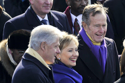 Former U.S President George H. W. Bush to vote for Hillary Clinton