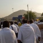 Day 2 of Hajj, travelling to Mount Arafat