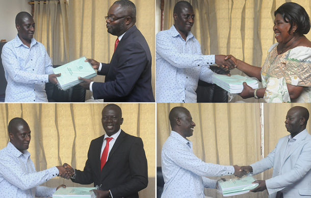 Race for Dec 7 begins as 4 pick presidential nomination forms
