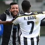 Ghana ace Badu receives award in Italy