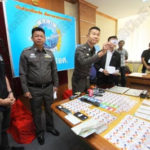 Photo: Two men from Niger caught in Bangkok using stolen ATM cards from Nigeria