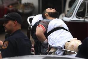 US terror blasts: Bar owner describes 'exhausted' suspect