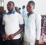 Four electricians convicted of stealing