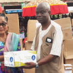 Lordina Foundation donates to 3 facilities in Wamanafour