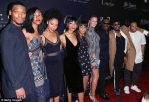 Photos: Eddie Murphy & 7 of his children walk the red carpet at a movie premiere in LA