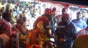 Mahama attends Fetu Afahye in Cape Coast [Photos]