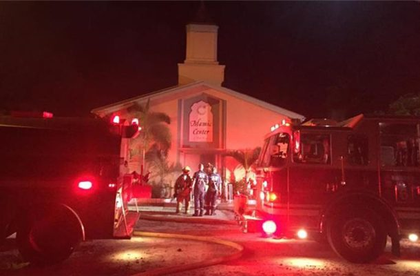 US: Florida mosque set on fire during Eid al-Adha