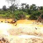 Galamsey, real estate invade irrigation lands