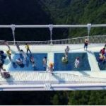 China's record-breaking glass bridge closes after two weeks