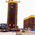 Equipment to facilitate gas supply to Ghana Gas ready to be installed