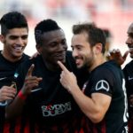 Al Ahli star Asamoah Gyan feels coach Cosmin Olaroiu is central to his improvement