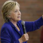 Washington Post poll: Clinton ahead by 5%