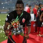Asamoah Gyan wins first silverware with Al Ahli after Super Cup triumph over Al Jazira