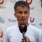 Ex- Hearts trainer Kenichi congratulates Wa All stars for wining GhPL title.