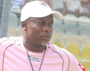 Hearts coach Yaw Preko congratulates GhPL champions Wa All Stars