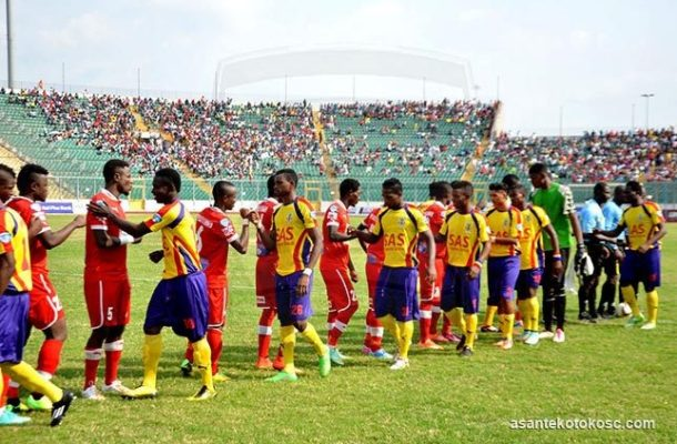 Hearts,Kotoko share spoils in 4 goals thriller in UN peace cup