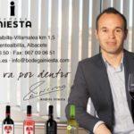 Barcelona star Iniesta seeks winning wine formula