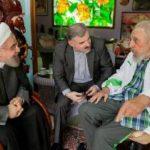 Iran's president in Cuba, meets Castros