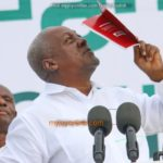 Mahama lays record bare at Manifesto launch; charges Ghanaians to retain him