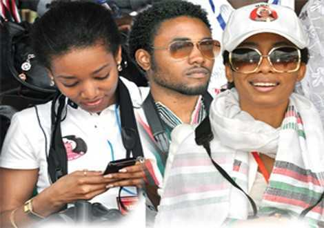 Kimathi Rawlings Snubs Mother's Presidential Ambition . . . Campaigns For Zenator And Mahama